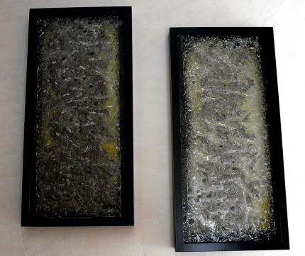 """две картини от стъкло - серия """"Насън и наяве"""""""